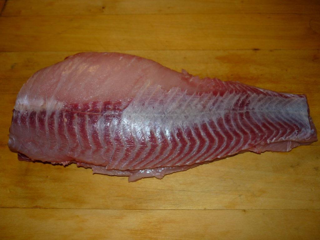 Očištěná ryba
